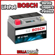 LT12B-BS BATTERIA LITIO BOSCH YT12B-BS LifePo4 0986122619 YT12BBS MOTO SCOOTER QUAD CROSS