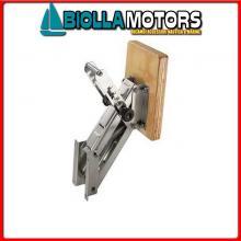 0520515 SUPPORTO MOTORE <15HP FISSO INOX Supporto Motore a Pantografo L
