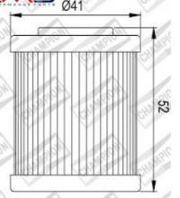 100609545 COF057 FILTRO OLIO BETA 250 RR Enduro 4T2 ° filtro 05-09 (X335)