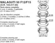 6053 SERIE STERZO MALAGUTI 50 F12/F15 (O.R. 104.017.00)
