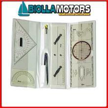 2430000 SET CARTEGGIO STD LARGE Set Carteggio Patente Nautica L