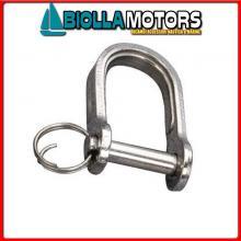 0121504 GRILLO STAMP D5 INOX Grillo Dritto con Anellino