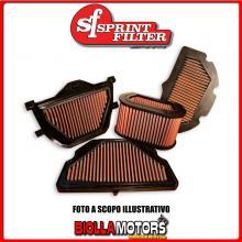 PM46S16 FILTRO ARIA SPRINTFILTER HONDA CBR RR (filtro P16) 2007-> 600CC RACING SPORTIVO LAVABILE
