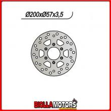 659729 DISCO FRENO POSTERIORE NG MOTOR HISPANIA City 50CC 2003 729 20080573,56