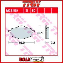 MCB539EC PASTIGLIE FRENO ANTERIORE TRW REX 50 RS250 2004- [ORGANICA- EC]