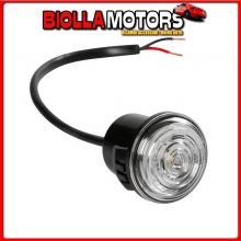 98388 LAMPA LUCE PERIMETRALE DA INCASSO A 1 LED, 12/24V - BIANCO