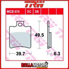 MCB674 PASTIGLIE FRENO ANTERIORE TRW Hyosung GPS 125 Hyper 1998-2001 [ORGANICA- ]