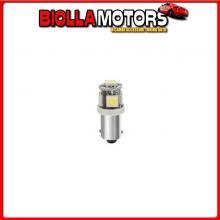 98251 LAMPA 24/28V HYPER-LED 15 - 5 SMD X 3 CHIPS - (T4W) - BA9S - 2 PZ - D/BLISTER - BIANCO - DOPPIA POLARIT?