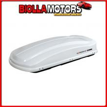N60023 NORDRIVE BOX 530, BOX TETTO IN ABS, 530 LITRI - BIANCO LUCIDO