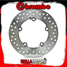 68B407G8 REAR BRAKE DISC BREMBO HONDA CTX 2014- 700CC FIXED
