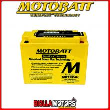 MBTX24U BATTERIA MOTOBATT 12N183 AGM E06027 12N183 MOTO SCOOTER QUAD CROSS