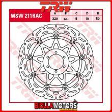 MSW211RAC DISCO FRENO ANTERIORE TRW Laverda 650 Sport 1995-2001 [FLOTTANTE - CON CONTOUR]