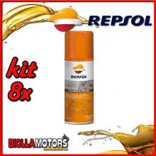 KIT 8X 400ML REPSOL MOTO CLEANER & POLISH 400ML - 8x REPSOL41