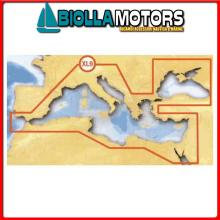 5625837 XL9 43XG MSD GOLD CARTA Navionics Gold 43XG Mediterranean Cartography
