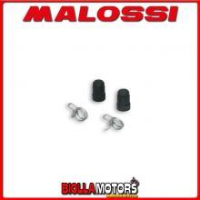 1012877 MALOSSI 2 tappi D. interno 4,8 mm con fascette