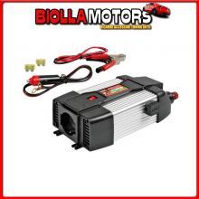 97980 LAMPA POWER INVERTER PSW300, TRASFORMATORE A ONDA SINUSOIDALE PURA 24V > 230V