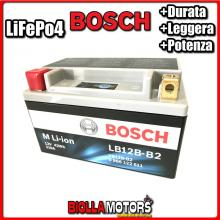 LB12B-B2 BATTERIA LITIO BOSCH YB12B-B2 LifePo4 0986122611 YB12BB2 MOTO SCOOTER QUAD CROSS