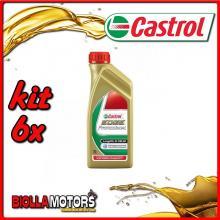 KIT 6X LITRO OLIO CASTROL EDGE 5W30 LT1 - 6x EDGE 5W30