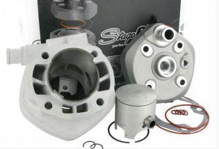 S6-7416608.RC-2 Gruppo termico Stage6 RACING 70cc ALLU MKII, Spinotto 12mm, Minarelli LC (PREPARATO IN SERIE LIMITATA DAL REPART
