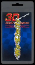 397 ADESIVO 3D SYMBOL SUPERDETTAGLIATO - NO LIMITS ORO