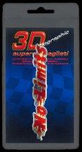 387 ADESIVO 3D SYMBOL SUPERDETTAGLIATO - NO LIMITS ROSSO