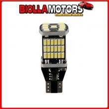 58389 PILOT 12-18V LED SERIES - 45 LED SMD - (T15) - W2,1X9,5D - 2 PZ - SCATOLA - BIANCO - DOPPIA POLARIT?