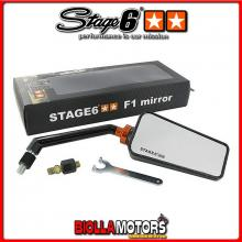 S6-SSP630-2R/CA SPECCHIETTO STAGE6 F1 DX EFFETTO CARBONIO LUCIDO