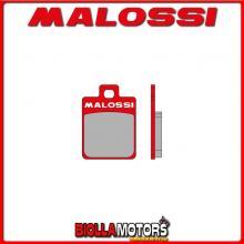 6215074 - 6215006BR COPPIA PASTIGLIE FRENO MALOSSI Posteriori GILERA RUNNER SP 50 2T LC <-2005 MHR Posteriori - per veicoli PROD