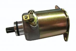 V735100113 MOTORINO AVVIAMENTO BERGAMASCHI KYMCO MOVIE/XL 125/150-DINK 125/150 (ROTAZIONE DX 19MM, 9 DENTI)
