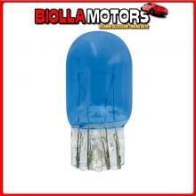 58313 PILOT 12V LAMPADA CON ZOCCOLO VETRO BLU-XE 2 FILAMENTI - (W21/5W) - 21/5W - W3X16Q - 2 PZ - D/BLISTER