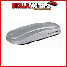 N60020 NORDRIVE BOX 530, BOX TETTO IN ABS, 530 LITRI - GRIGIO GOFFRATO