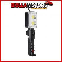 70649 LAMPA GL-11 TRUCKER, LAMPADA ISPEZIONE RICARICABILE A LED COB - 12/24V
