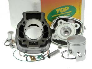 9916510 GRUPPO TERMICO TOP TROPHY 70CC D.48 PIAGGIO H2O SP.12 GHISA CON RACCORDO TESTA