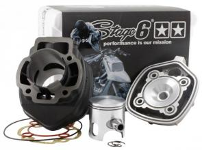 S6-7214043 GRUPPO TERMICO STAGE6 STREET RACE 70CC D.47 PIAGGIO H2O SP.12 GHISA