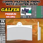 FD068G1651 PASTIGLIE FRENO GALFER PREMIUM ANTERIORI INDIAN MOTORCYCLE CHIEF BLACKHAWK DARK 11-