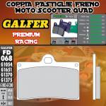 FD068G1651 PASTIGLIE FRENO GALFER PREMIUM ANTERIORI SACHS ROADSTER s-805 03-