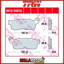 MCB848SH PASTIGLIE FRENO POSTERIORE TRW Honda VFR 1200 FD ABS DCT 2012-2016 [ORGANICA- ]