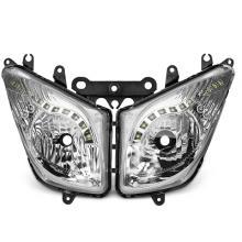 204366B FARO ANTERIORE CON LED LEDS OMOLOGATO COMPLETO YAMAHA TMAX 500 2008-2011 ( OEM : 4B5843100200 )