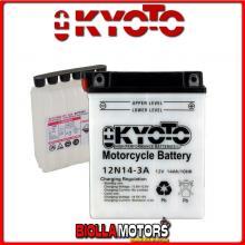 712143 BATTERIA KYOTO 12N14-3A [NO ACIDO] 12N143A MOTO SCOOTER QUAD CROSS [NO ACIDO]