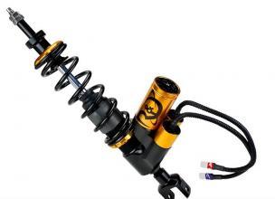 RDX2E Stoßdämpfer R&D X 2-E, elektronische Einstellung, verstellbare Länge, hinten PIAGGIO