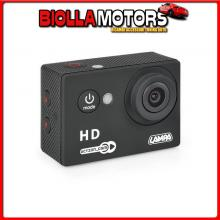 38864 LAMPA ACTION-CAM 1, TELECAMERA PER SPORT 720P + KIT ACCESSORI