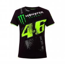 501025. M-t-Shirt schwarz Größe M MONSTER VR46