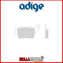 P.172ASX PASTIGLIE FRENO POSTERIORE ADIGE KTM DUKE 2011-2014 125CC (ORGANICHE)