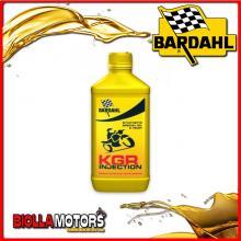 226041 1 LITRO OLIO BARDAHL KGR INJECTION E CARBURATORE LUBRIFICANTE PER MOTO 2T 1LT