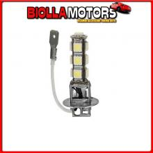 98222 LAMPA 24/28V HYPER-LED 39 - 13 SMD X 3 CHIPS - (H3) - PK22S - 1 PZ - D/BLISTER - BIANCO