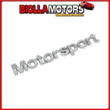 07237 PILOT EMBLEMA 3D CROMATO - MOTOR SPORT