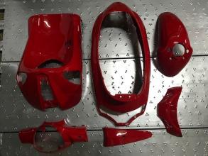 1R000117 ORIGINAL PIAGGIO LIBERTY DELIVERY RED FAIRING