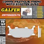 FD169G1380 PASTIGLIE FRENO GALFER SINTERIZZATE ANTERIORI YAMAHA XP 500 T-MAX BLACK MAX 06-07