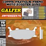 FD169G1380 PASTIGLIE FRENO GALFER SINTERIZZATE ANTERIORI MBK MOTOBEKANE SKYLINER 00-