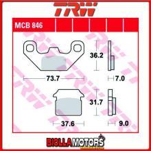 MCB846 PASTIGLIE FRENO POSTERIORE TRW Lifan 125 Offroad 2007- [ORGANICA- ]